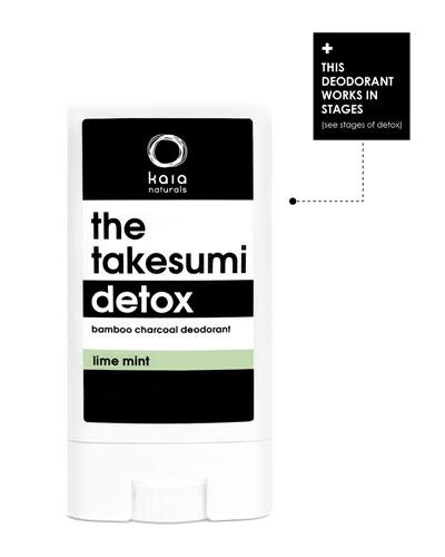 The Takesumi Detox Mini Lime Mint