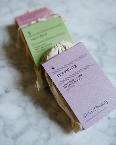 Lavender Milk + Honey Face Cake Mask Mix