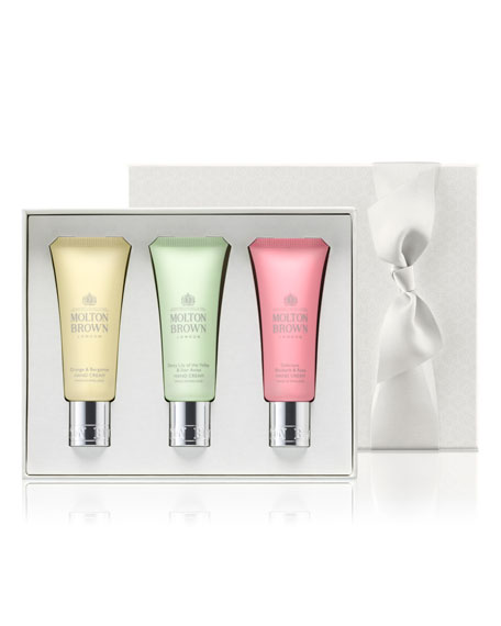 Molton Brown Spring Signatures Hand Cream Gift Trio,
