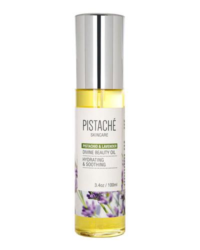 Pistachio & Lavender Divine Beauty Oil  3.4 oz./ 100 mL