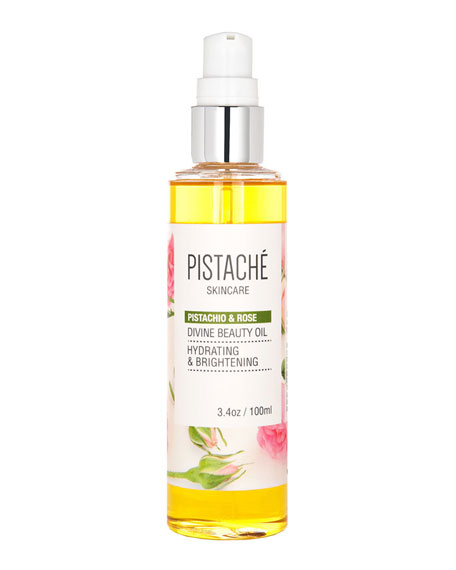 Pistachio & Rose Divine Beauty Oil, 3.4 oz./ 100 mL