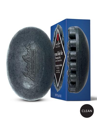 Charcoal Body Bar Massaging Soap
