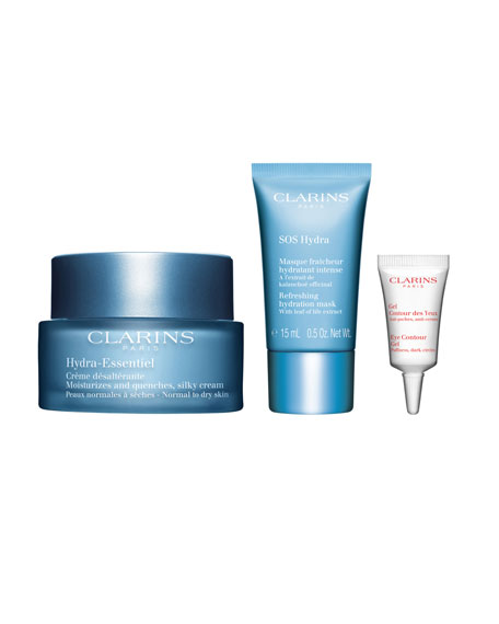 Clarins Limited Edition Hydra-Essentiel 24/7 Discovery Kit