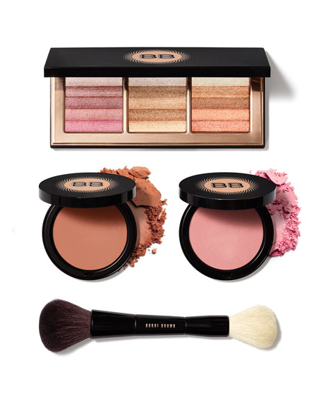 Limited Edition Warm, Define, Illuminate Collection Dual-Ended Bronzer/Face Blender Brush
