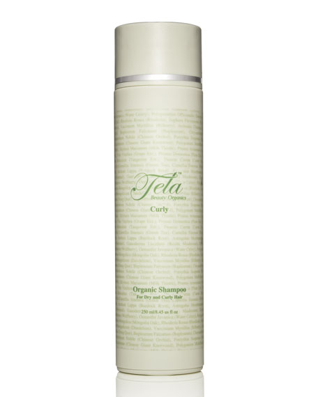 Tela Beauty Organics Curly Shampoo, For Dry, Frizzy