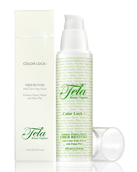 Color Lock+ Fiber Restore, Anti-Color Fade Serum, 3.3 oz./ 100 mL