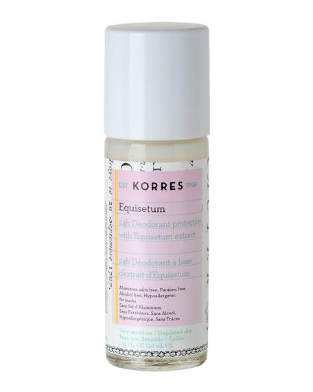 Korres 24H Deodorant Equisetum, 1.0 oz./ 30 mL
