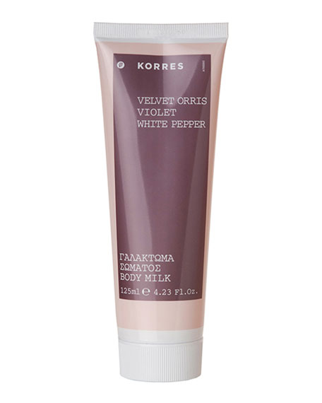 Korres Velvet Orris Body Milk, 4.2 oz./ 125