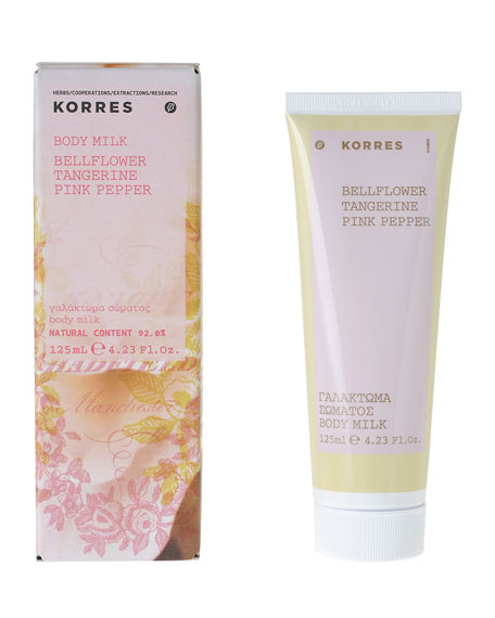 Korres Bellflower Body Milk, 4.2 oz./ 125 mL