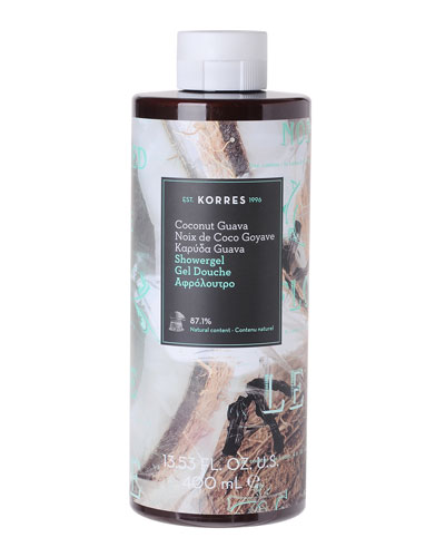 Coconut Guava Shower Gel, 14 oz./ 400 mL