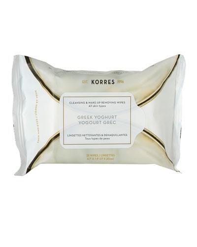 Greek Yoghurt Cleansing Wipes 25 CT