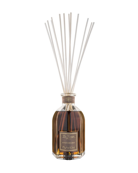 Oud Nobile Glass Bottle Collection Fragrance Diffuser, 8.4 oz./ 250 mL