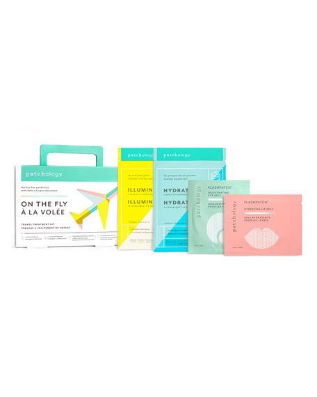 On the Fly Travel Skin Treatment Kit