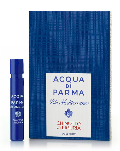 Receive this Blu Mediterraneo Chinotto di Liguria EDT sample*, yours with any beauty purchase.