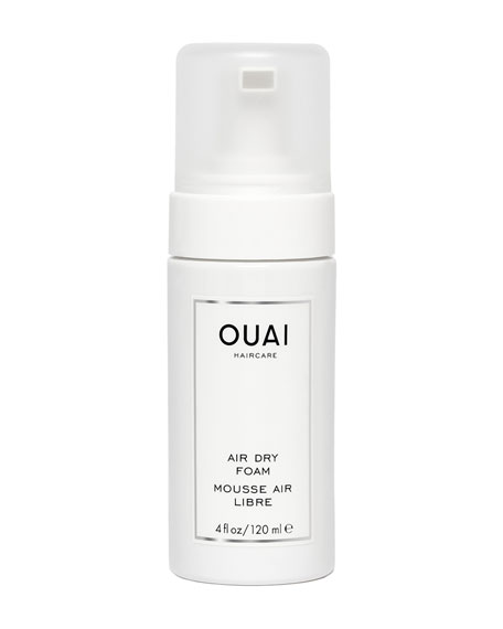 OUAI Haircare Air Dry Foam, 4 oz./ 120