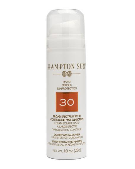 Hampton Sun SPF 30 Continuous Mist Sunscreen, 1