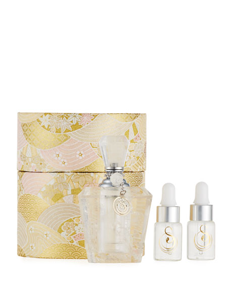 Rock Quartz Crystal Large Gemstone Perfume