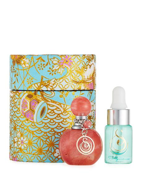 Strawberry Quartz Small Gemstone Perfume