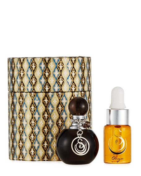 Black Obsidian Small Gemstone Perfume