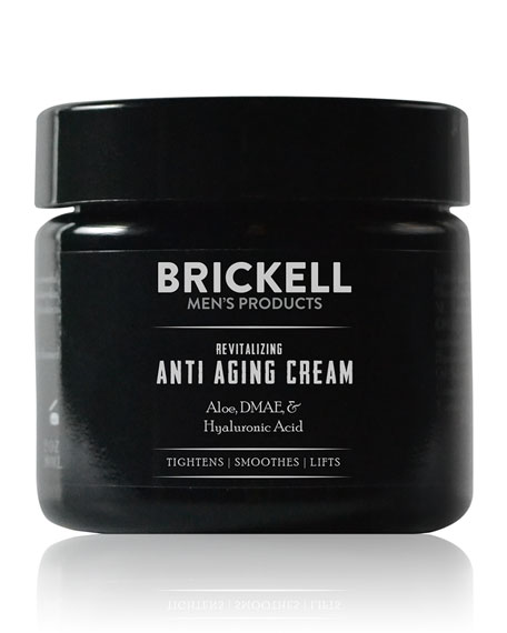 Brickell Men's Products Revitalizing Anti-Aging Cream, 2 oz./