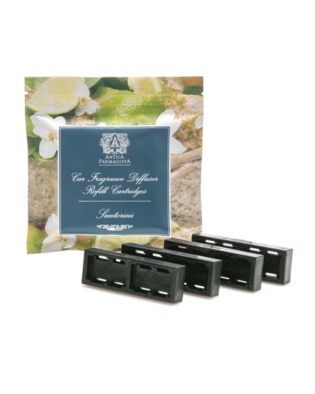 Santorini Car Fragrance Refill Set