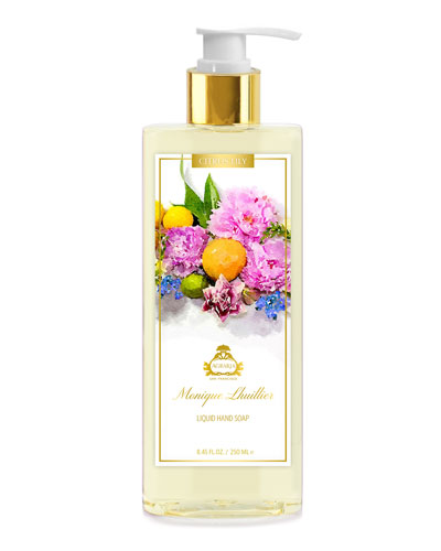 Monique Lhuillier Citrus Lily Liquid Hand Soap, 8.45 oz./ 250 mL