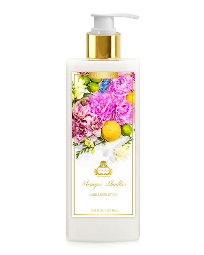 Monique Lhuillier Citrus Lily Hand & Body Lotion, 8.45 oz./ 250 mL