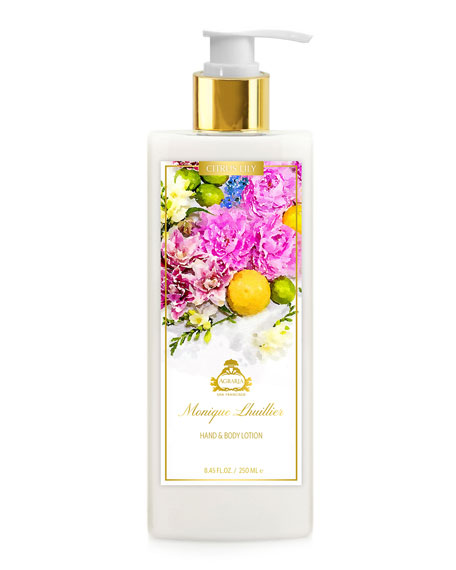 Agraria Monique Lhuillier Citrus Lily Hand & Body