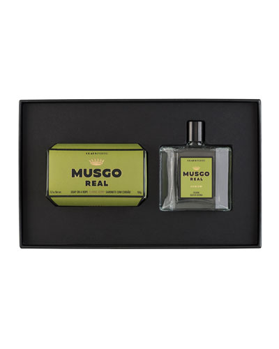 Gift Set (Soap on a Rope & Cologne) – Classic Scent