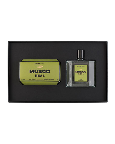 Musgo Real Gift Set (Soap on a Rope
