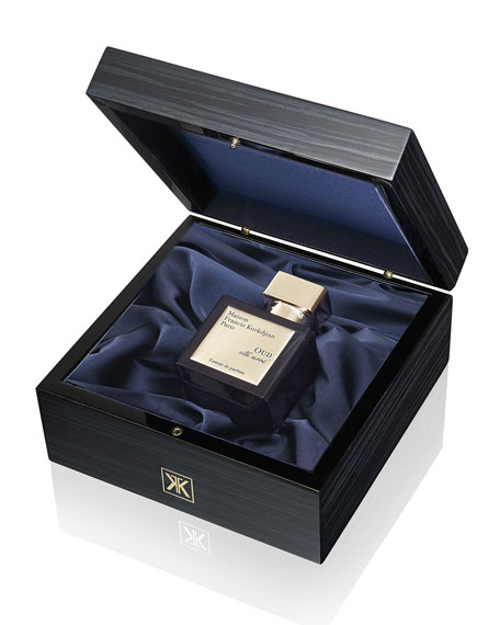 Oud Silk Extrait de parfum Luxury Wooden Gift Set