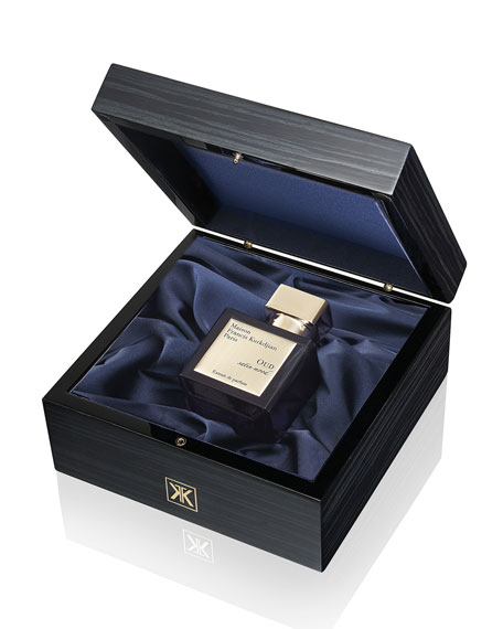 Oud Satin Mood Extrait de parfum Luxury Wooden Gift Set