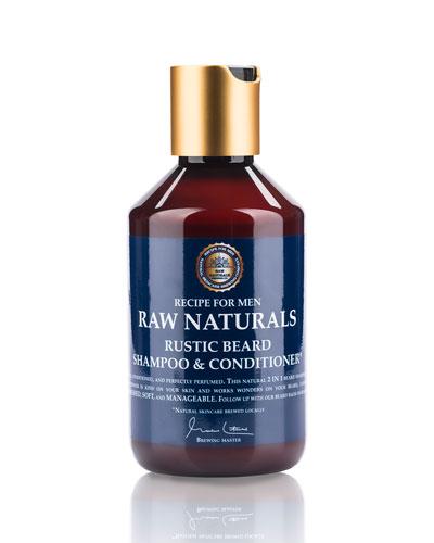 Rustic Hair Shampoo & Conditioner, 8.4 oz./ 250 mL
