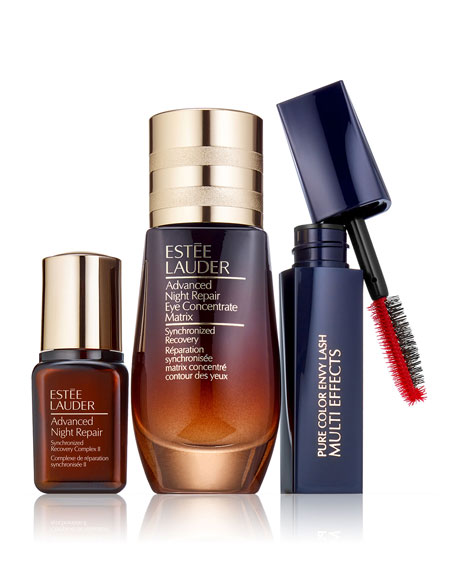 Estee Lauder Beautiful Eyes Set: Repair + Renew