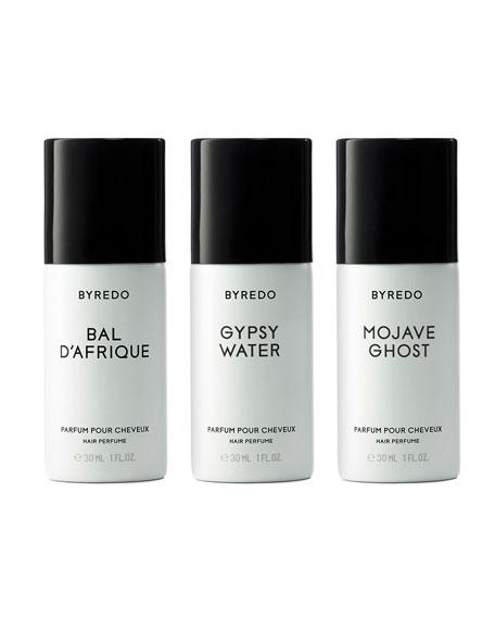 Triple Gagnant Bois Hair Perfume Set, 3 x 1.0 oz./ 30 mL