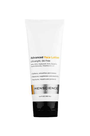 MenScience Advanced Face Lotion, 3.4 oz./ 100 mL