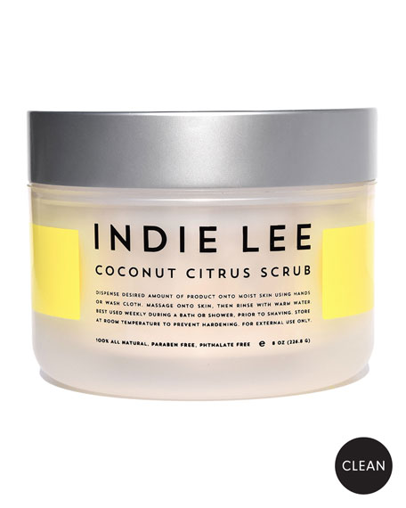 Indie Lee Coconut Citrus Body Scrub, 8 oz./