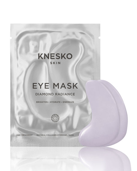 Knesko Skin Diamond Radiance Collagen Eye Masks (6