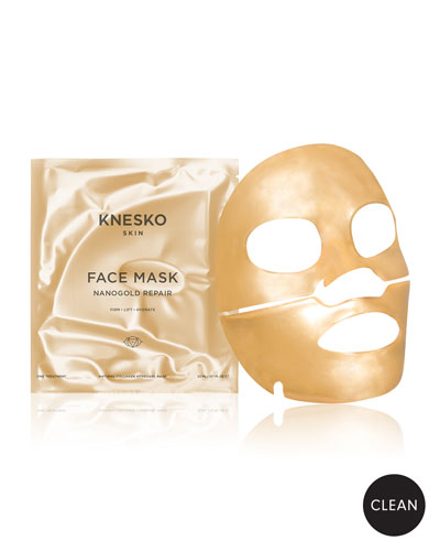 Nano Gold Repair Collagen Face Masks (4 Treatments)