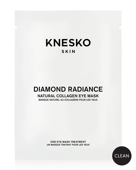 Knesko Skin Diamond Radiance Collagen Eye Masks (1