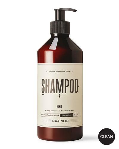 Shampoo - Niko Verbena  Spearmint & Vetiver  16.9 oz./ 500 mL