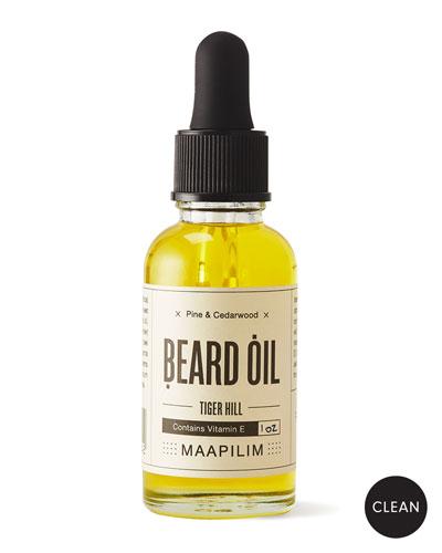 Beard Oil - Tiger Hill Pine & Cedarwood, 1.0 oz./ 30 mL