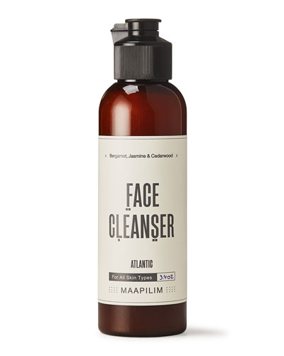 Face Cleanser - Atlantic Bergamot  Jasmine & Cedarwood  3.4 oz./ 100 mL
