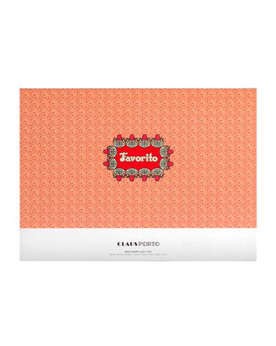 Exclusive FAVORITO Liquid Soap+Body Moisturizer+Soap Gift Set