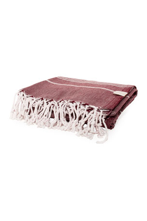 Vie Healing Turks Havlu Bordeaux Turkish Towel