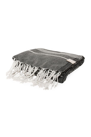 Vie Healing Turks Havlu Charcoal Turkish Towel