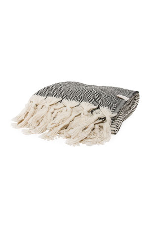 Vie Healing Medi Havlu Charcoal Turkish Towel