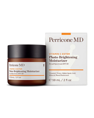Vitamin C Ester Photo-Brightening Moisturizer SPF 30, 2 oz./ 59 mL