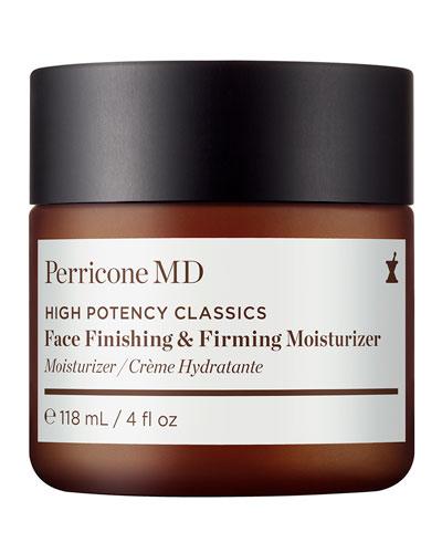High Potency Classics: Face Finishing Moisturizer, 4 oz./ 118 mL