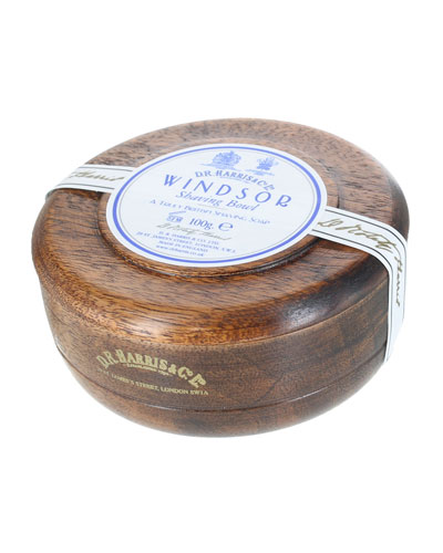 Windsor Shaving Soap in Mahogany Bowl